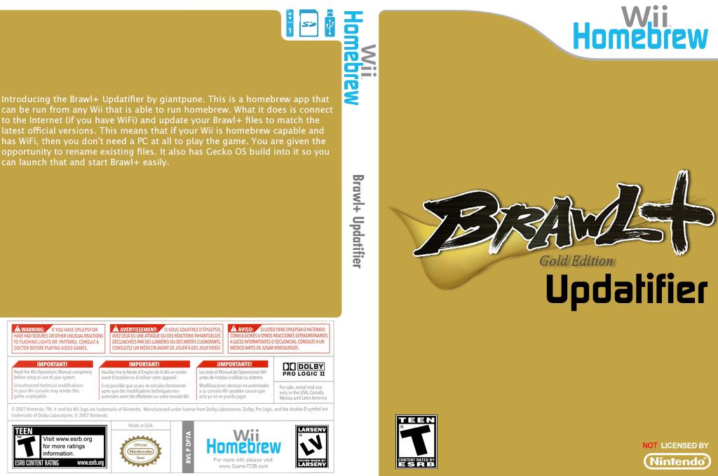 Brawl+ Updatifier Wii coverfullHQ (DP7A)