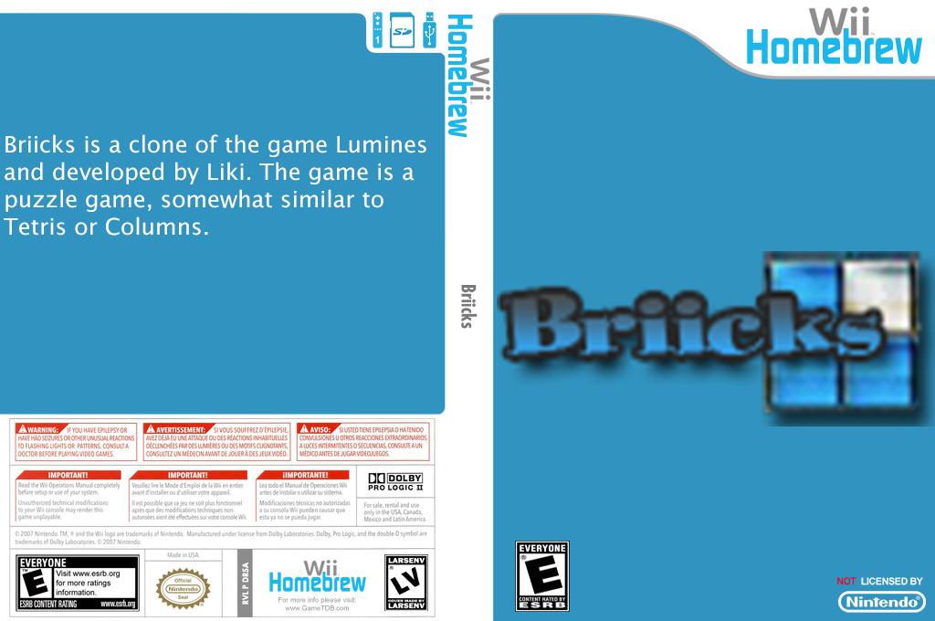 Briicks Wii coverfullHQ (DR5A)