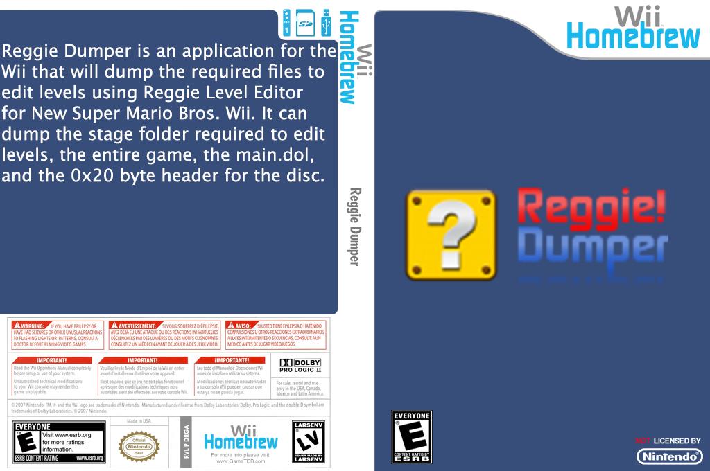 Reggie Dumper Array coverfullHQ (DRGA)