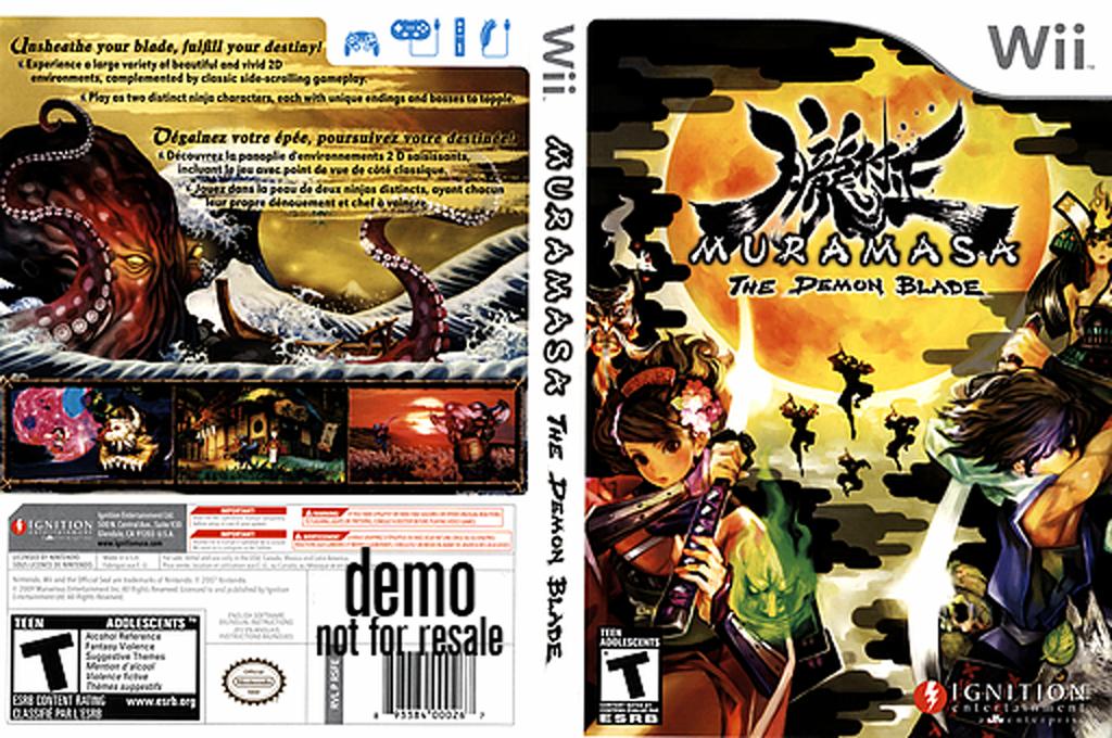 Muramasa: The Demon Blade (Demo) Wii coverfullHQ (DSFE7U)