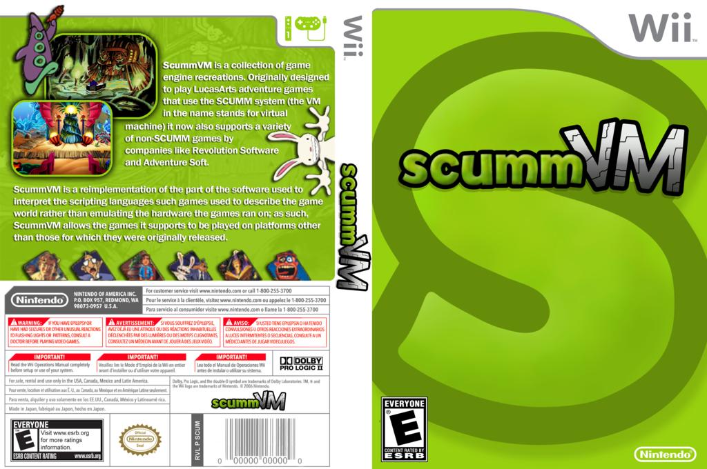 scummVM Wii coverfullHQ (DSVA)