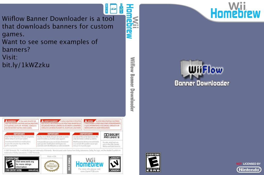 Wiiflow Banner Downloader Array coverfullHQ (DWDA)
