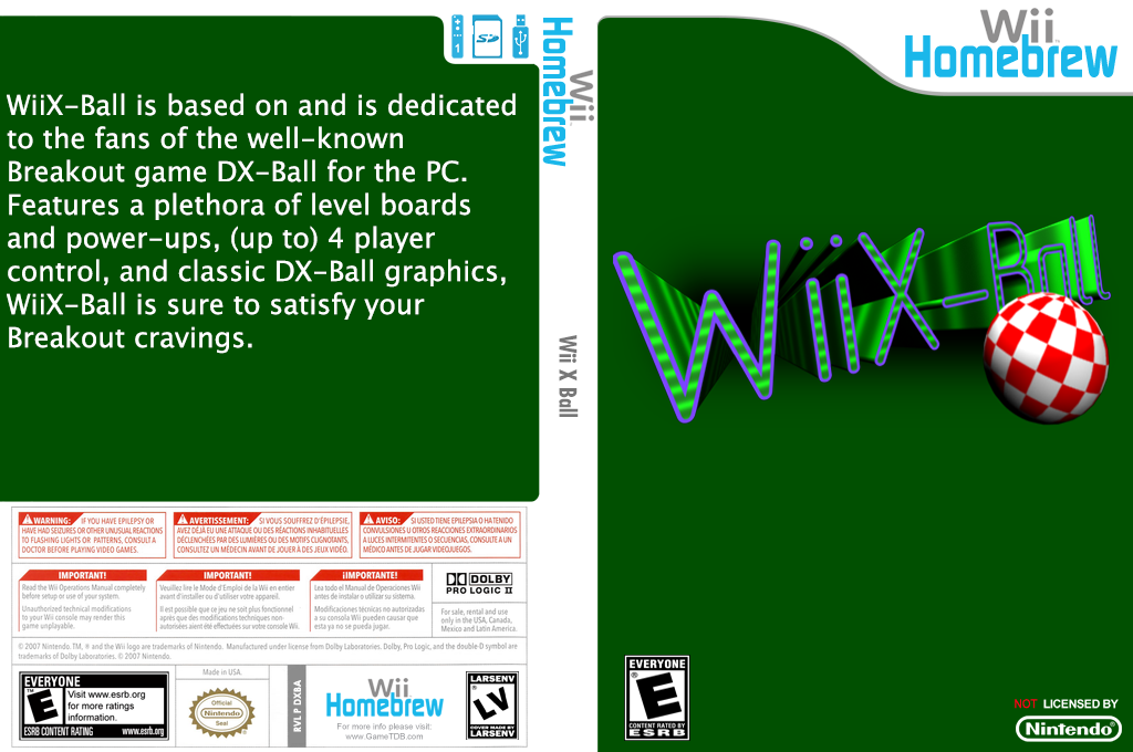Wii X Ball Array coverfullHQ (DXBA)