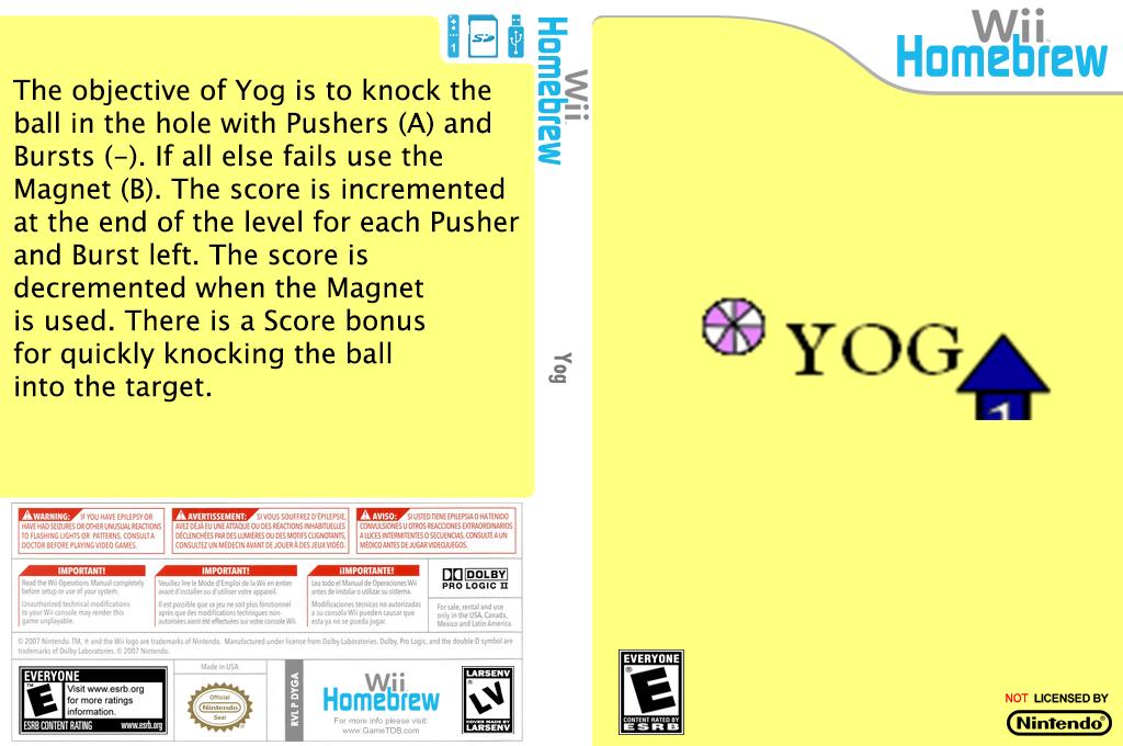 Yog Wii coverfullHQ (DYGA)