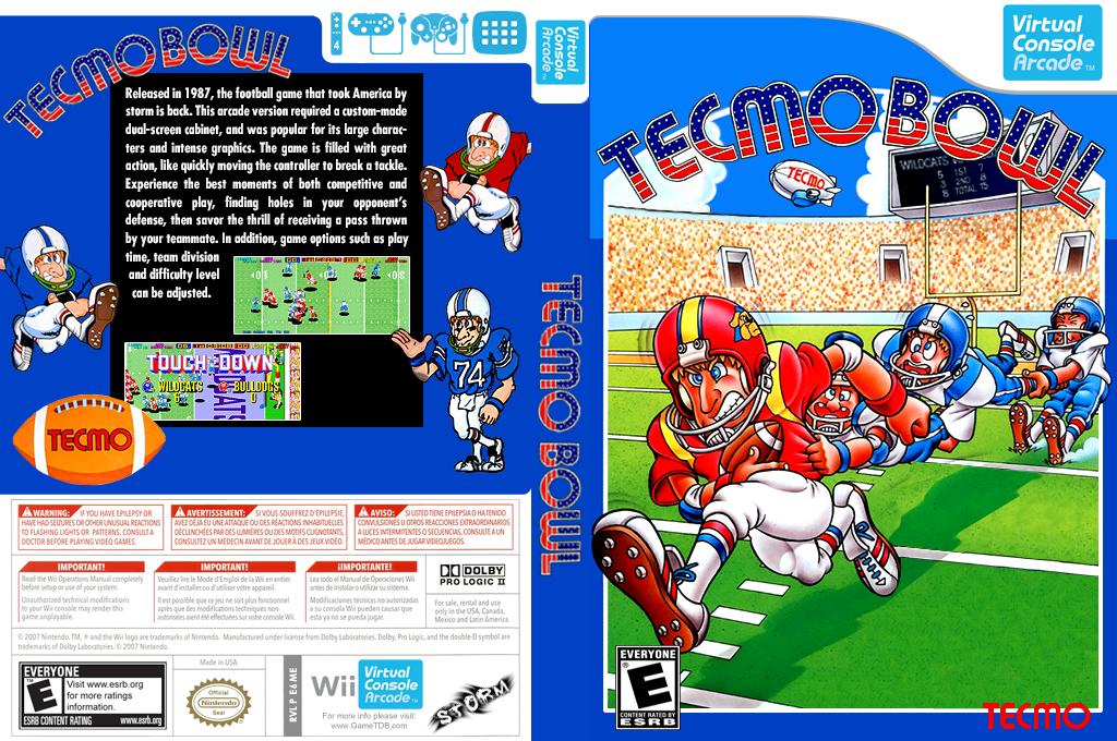 Tecmo Bowl Wii coverfullHQ (E6ME)
