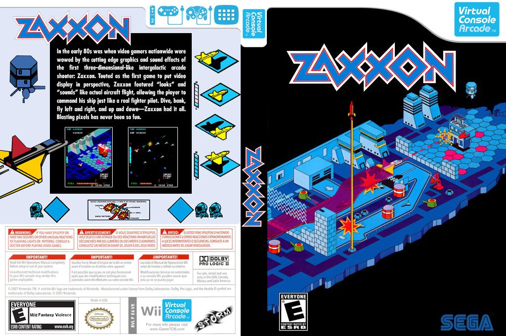 Zaxxon 3-D Wii coverfullHQ (E6VE)