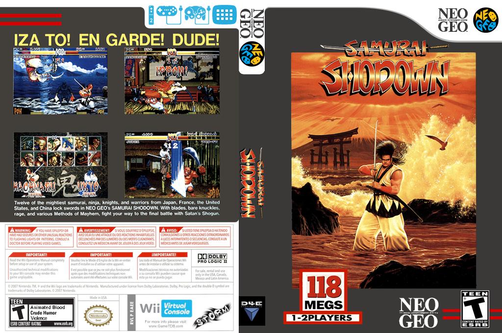 Samurai Shodown Wii coverfullHQ (EAEE)
