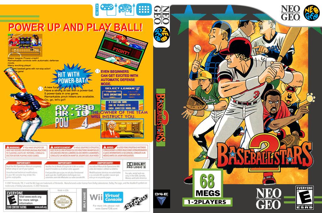 Baseball Stars 2 Wii coverfullHQ (EAHE)