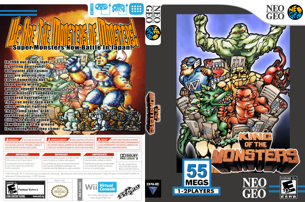 King of the Monsters Wii coverfullHQ (EAOE)
