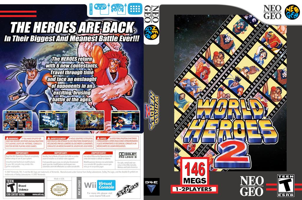 World Heroes 2 Wii coverfullHQ (EAQE)