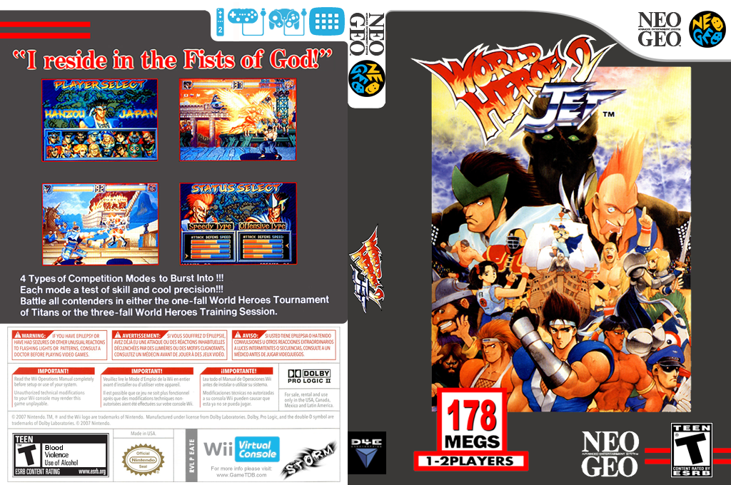 World Heroes 2 Jet Wii coverfullHQ (EATE)