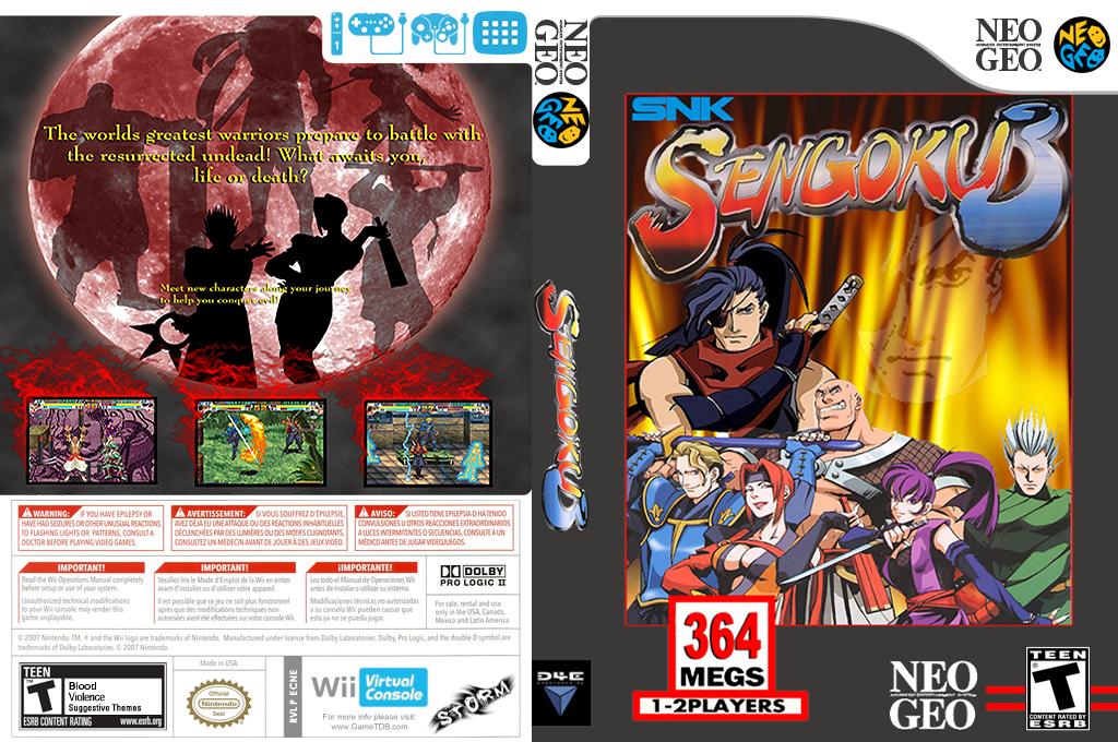 Sengoku 3 Wii coverfullHQ (ECNE)