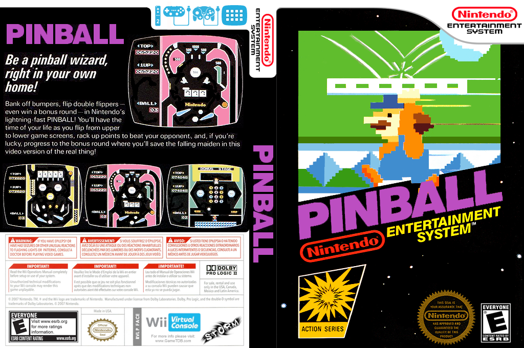 Pinball Wii coverfullHQ (FACE)