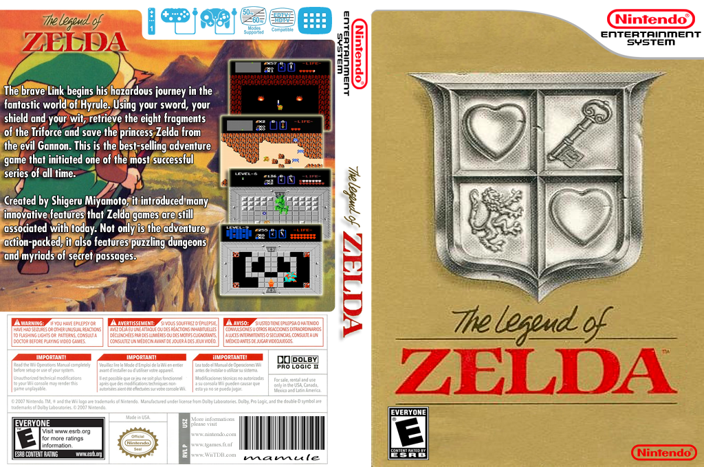 The Legend of Zelda Wii coverfullHQ (FAKE)