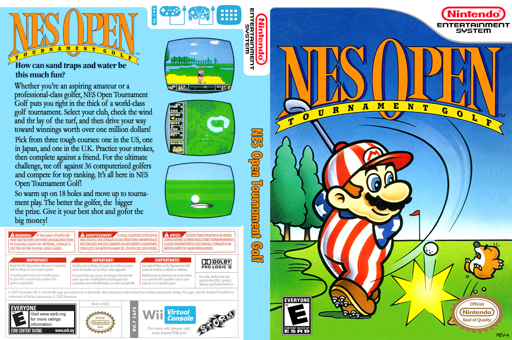 NES Open Tournament Golf Wii coverfullHQ (FAPE)