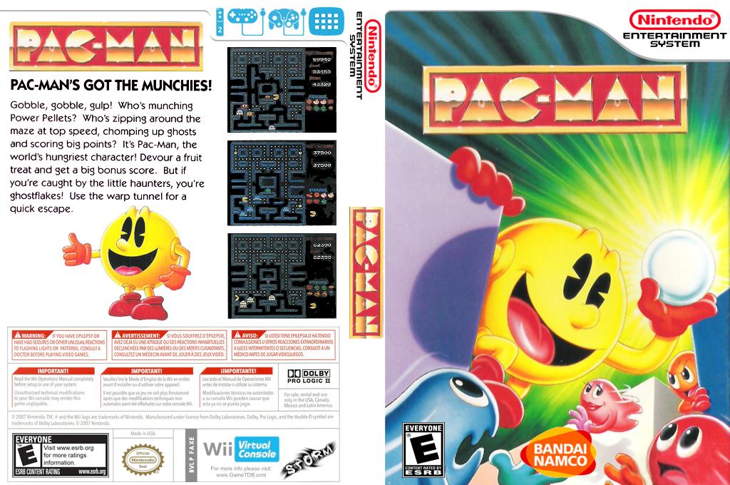 Pac-Man Wii coverfullHQ (FAXE)