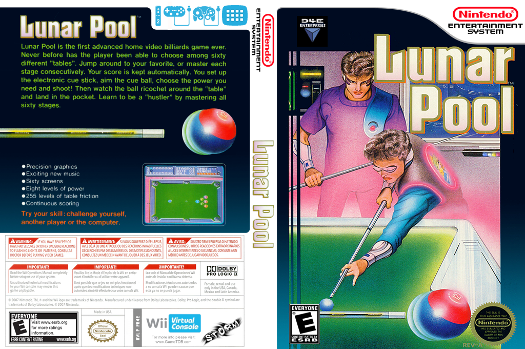 Lunar Pool Wii coverfullHQ (FB4E)