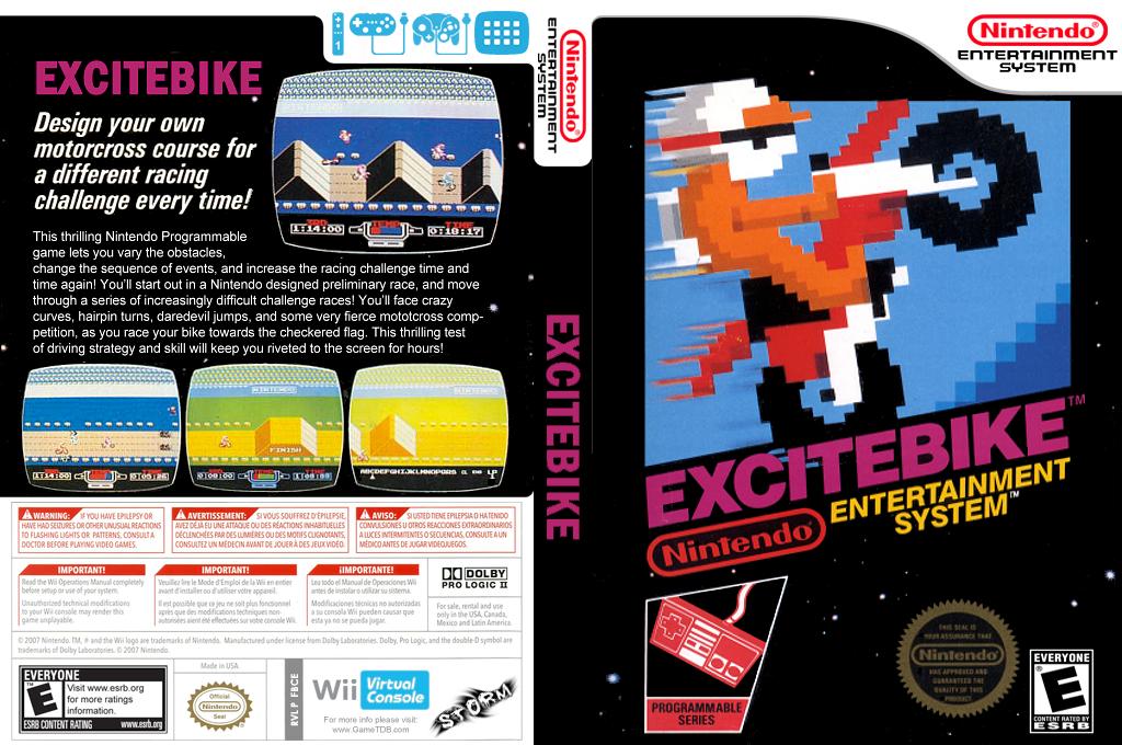 Excitebike Wii coverfullHQ (FBCE)