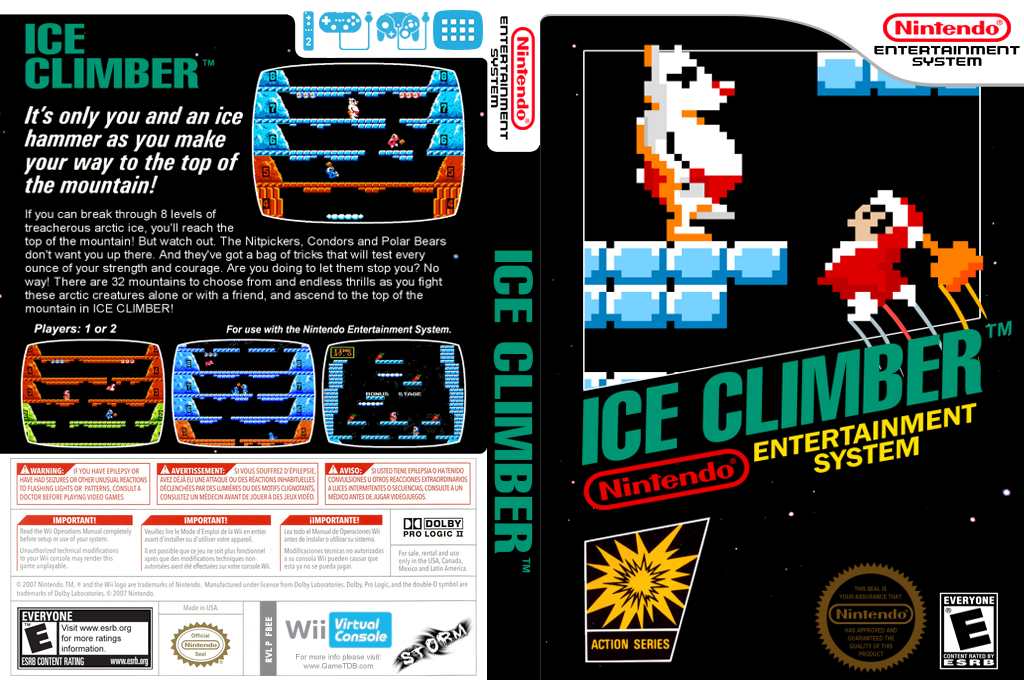 Ice Climber Wii coverfullHQ (FBEE)