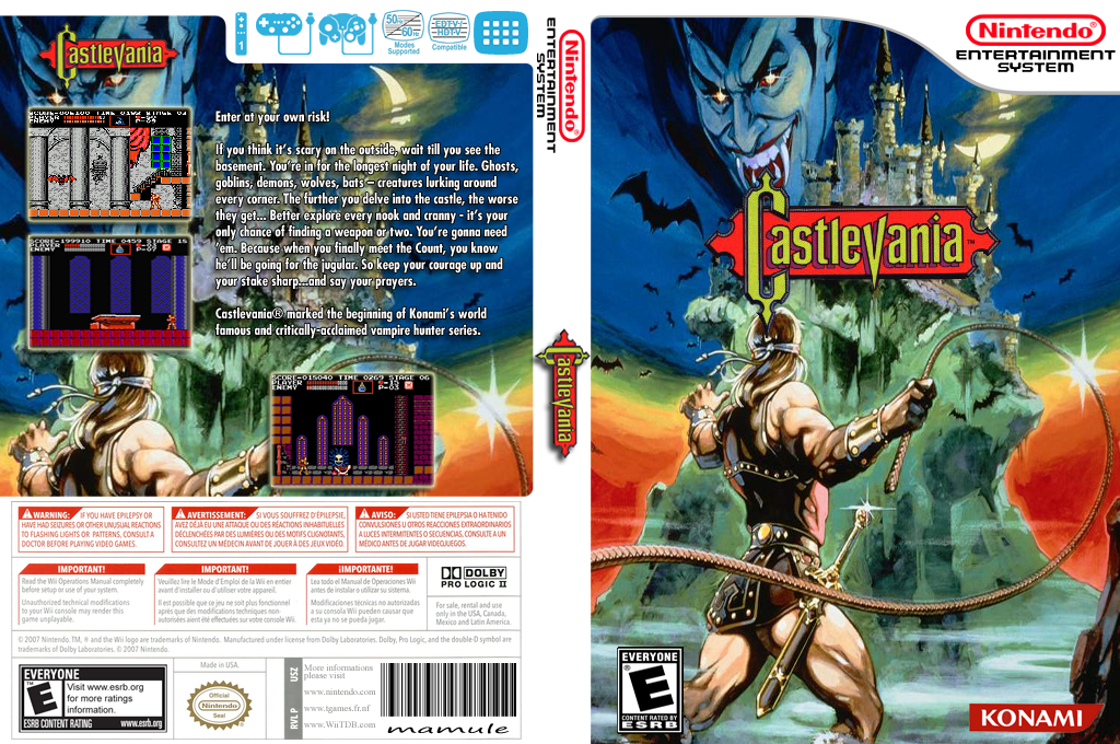 Castlevania Wii coverfullHQ (FBHE)