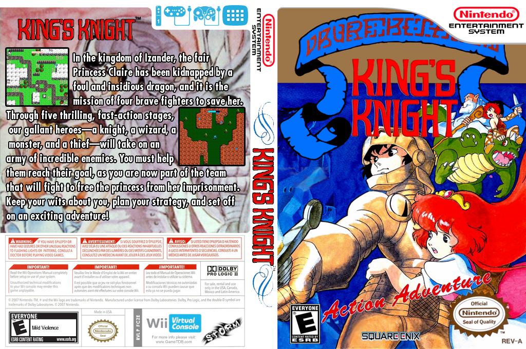 King's Knight Wii coverfullHQ (FCZE)
