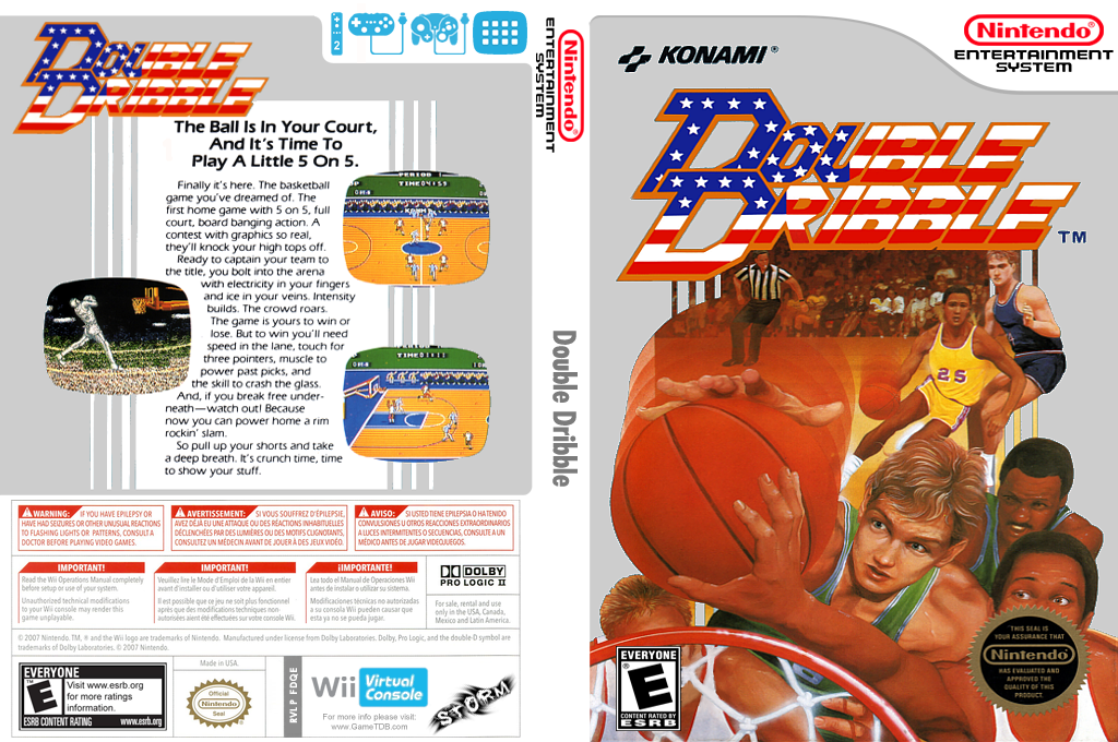 Double Dribble Wii coverfullHQ (FDQE)