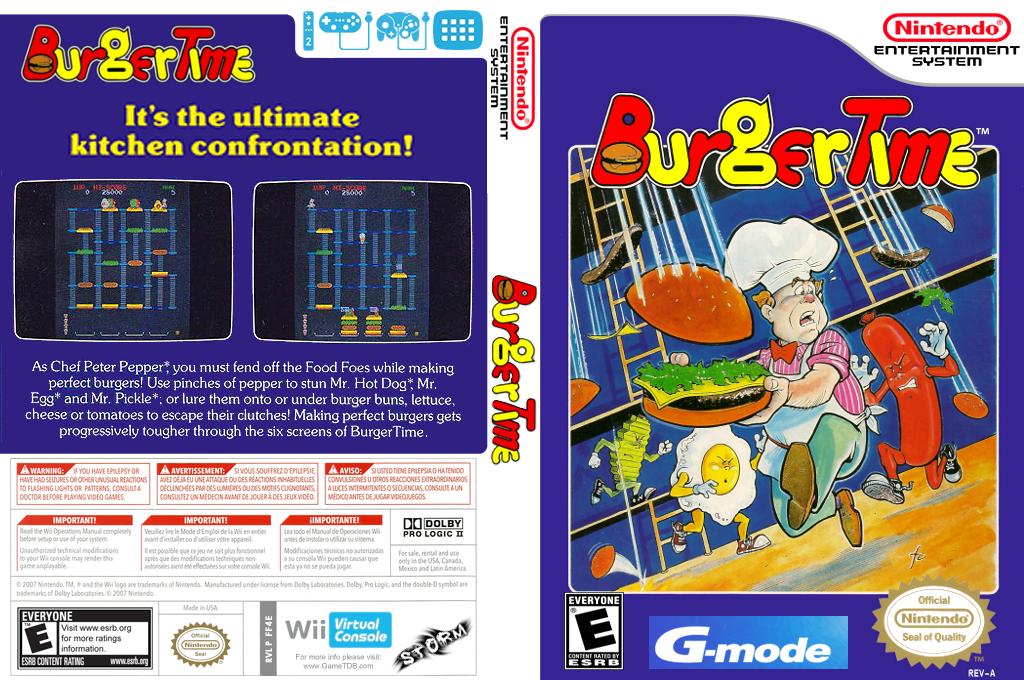 BurgerTime Wii coverfullHQ (FF4E)
