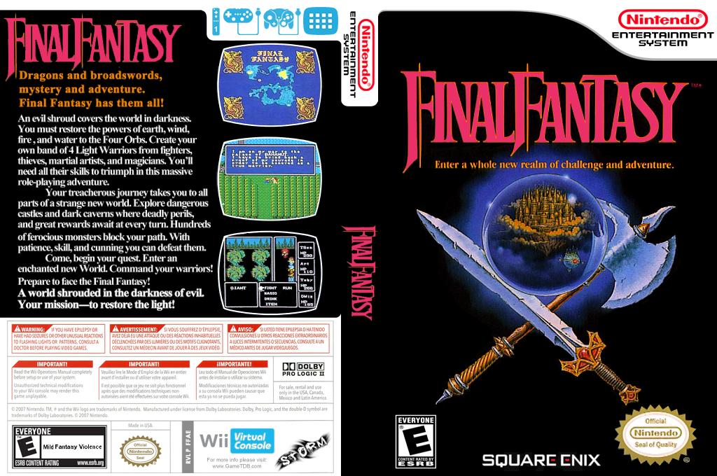 Final Fantasy Array coverfullHQ (FFAE)