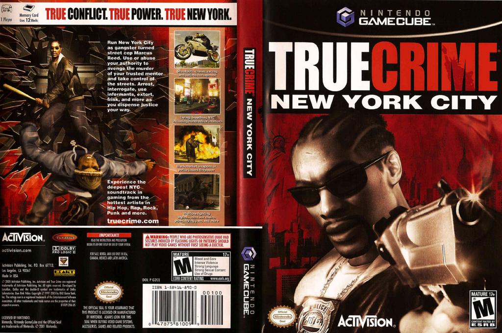 True Crime: New York City Wii coverfullHQ (G2CE52)