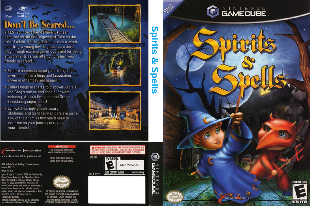 Spirits And Spells Wii coverfullHQ (G2PE6U)