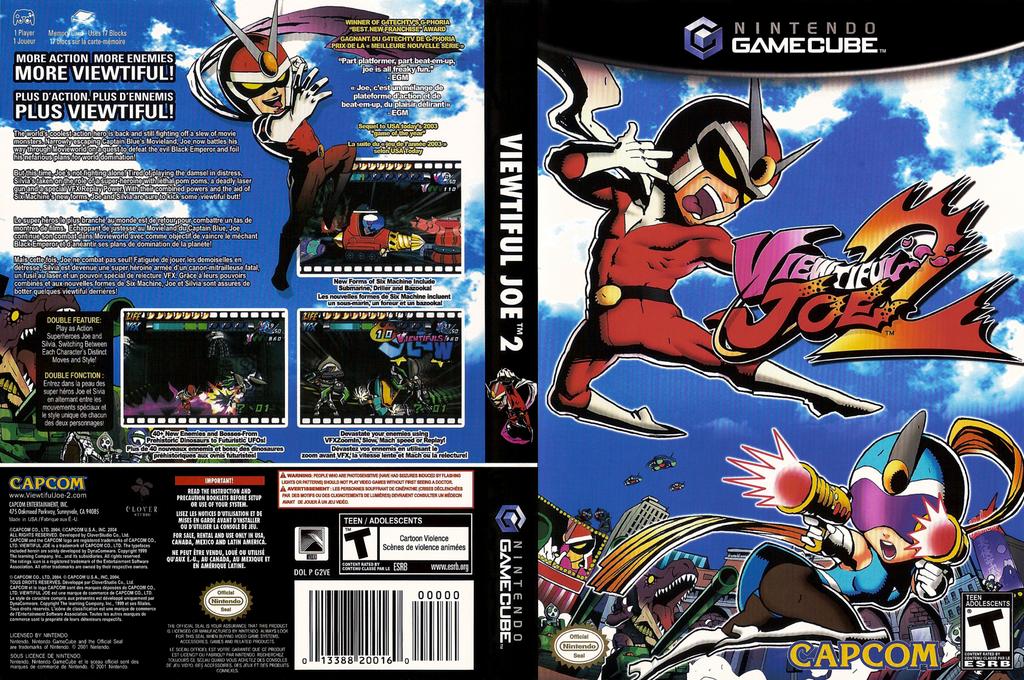 Viewtiful Joe 2 Wii coverfullHQ (G2VE08)