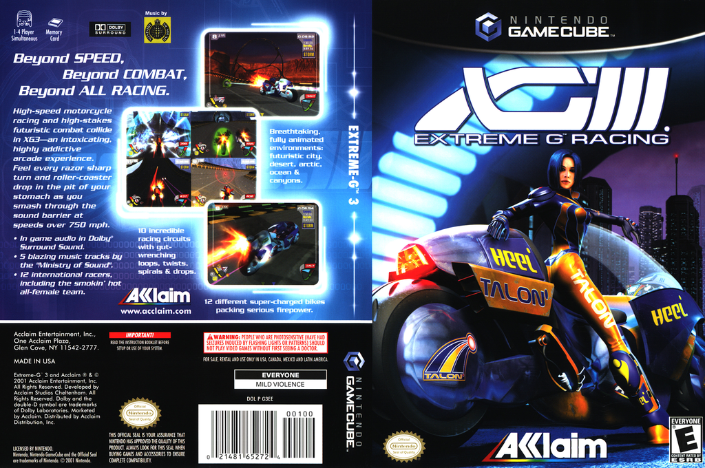 XGIII:Extreme G Racing Wii coverfullHQ (G3EE51)