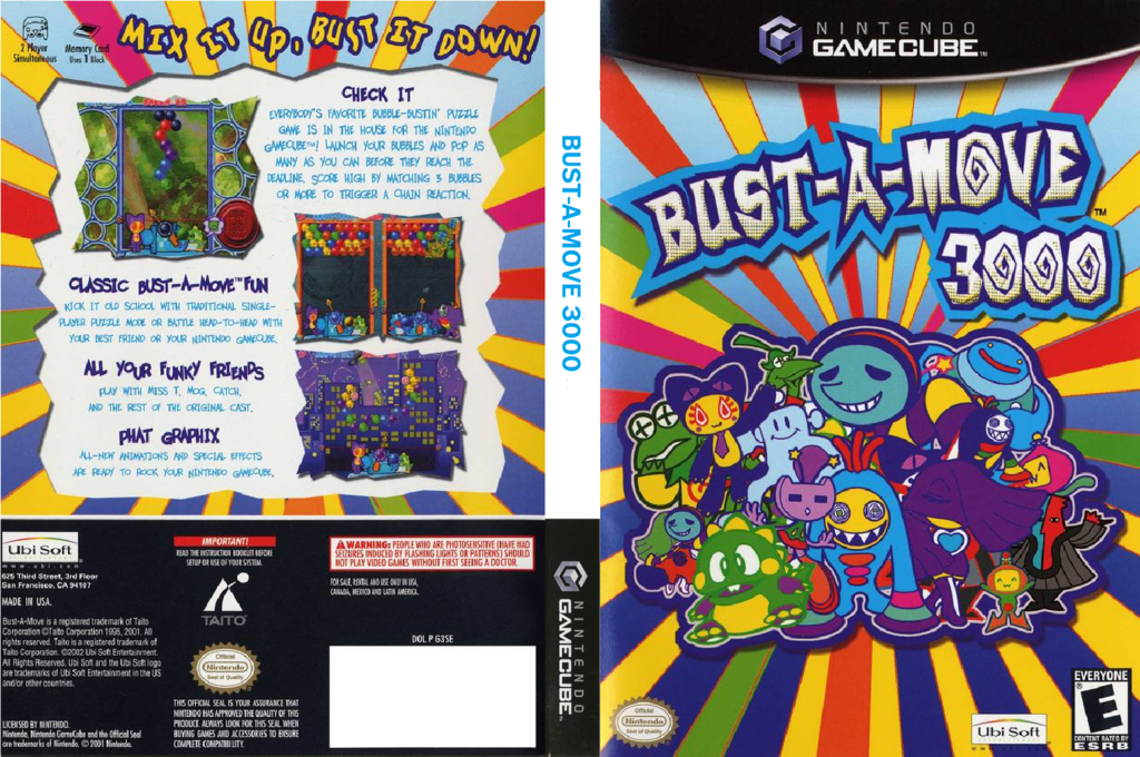 Bust-A-Move 3000 Wii coverfullHQ (G3SE41)