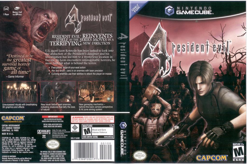 Resident Evil 4 Wii coverfullHQ (G4BE08)