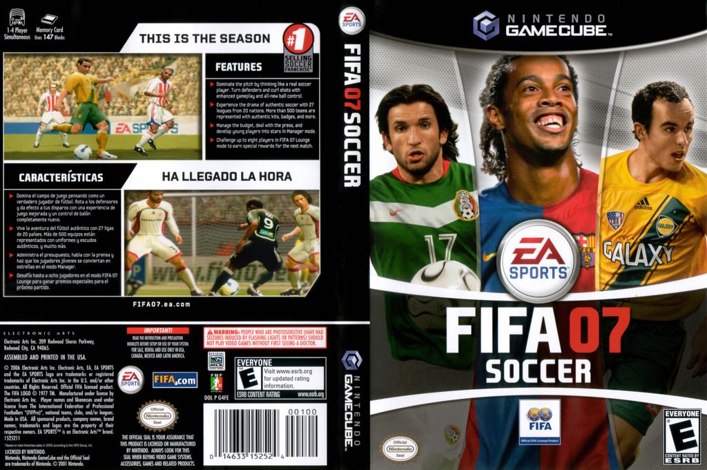 FIFA Soccer 07 Wii coverfullHQ (G4FE69)