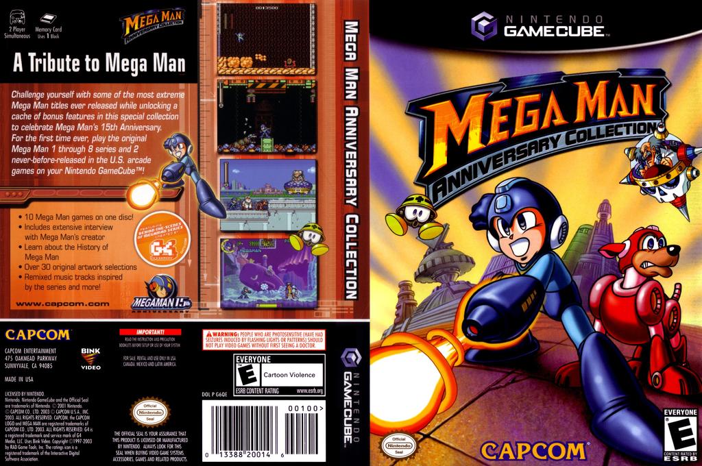 Mega Man Anniversary Collection Wii coverfullHQ (G6QE08)