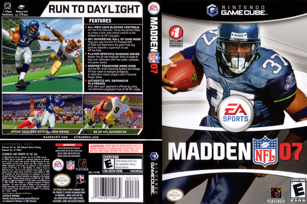 Madden NFL 07 Array coverfullHQ (G7ME69)