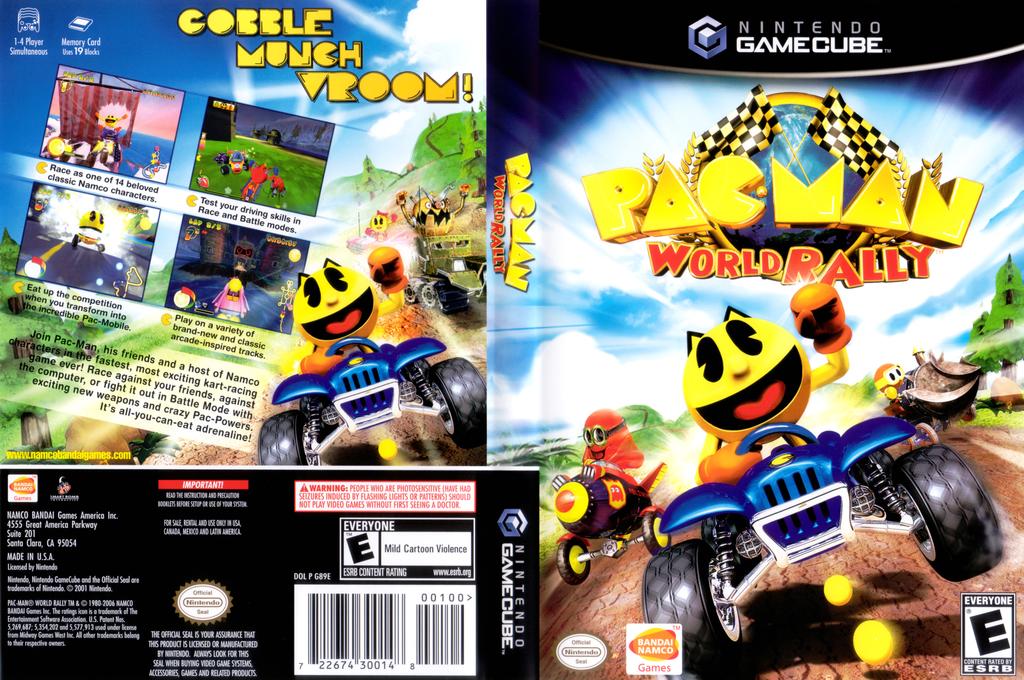 Pac-Man World Rally Wii coverfullHQ (G89EAF)