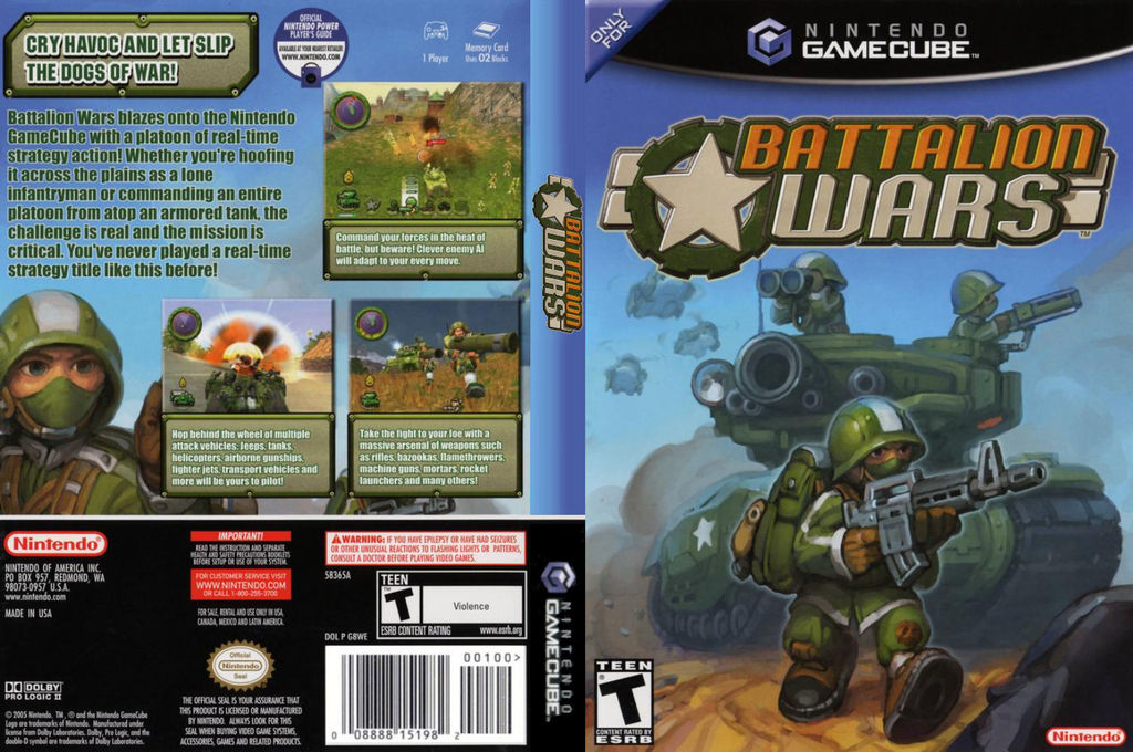 Battalion Wars Wii coverfullHQ (G8WE01)