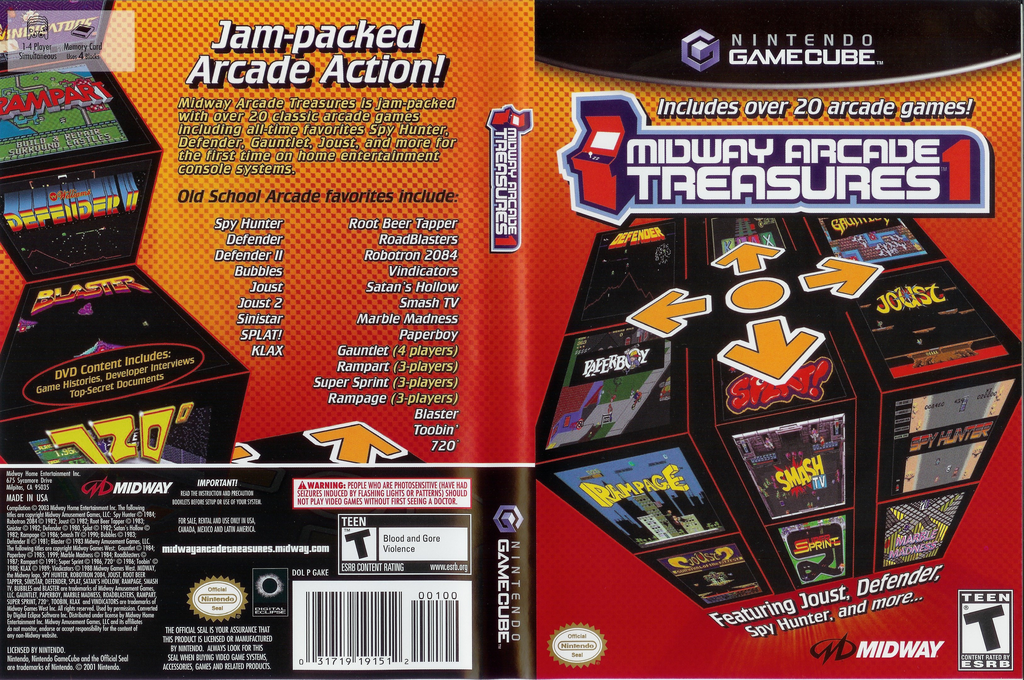 Midway Arcade Treasures Wii coverfullHQ (GAKE5D)