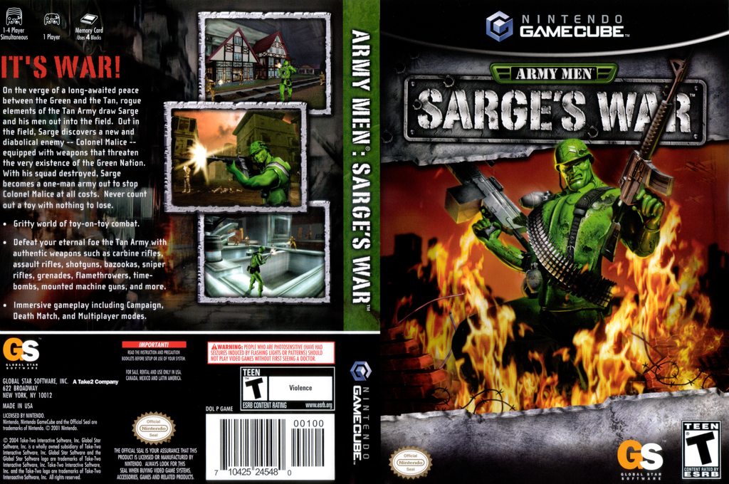 Army Men Sarges War Wii coverfullHQ (GAME5H)