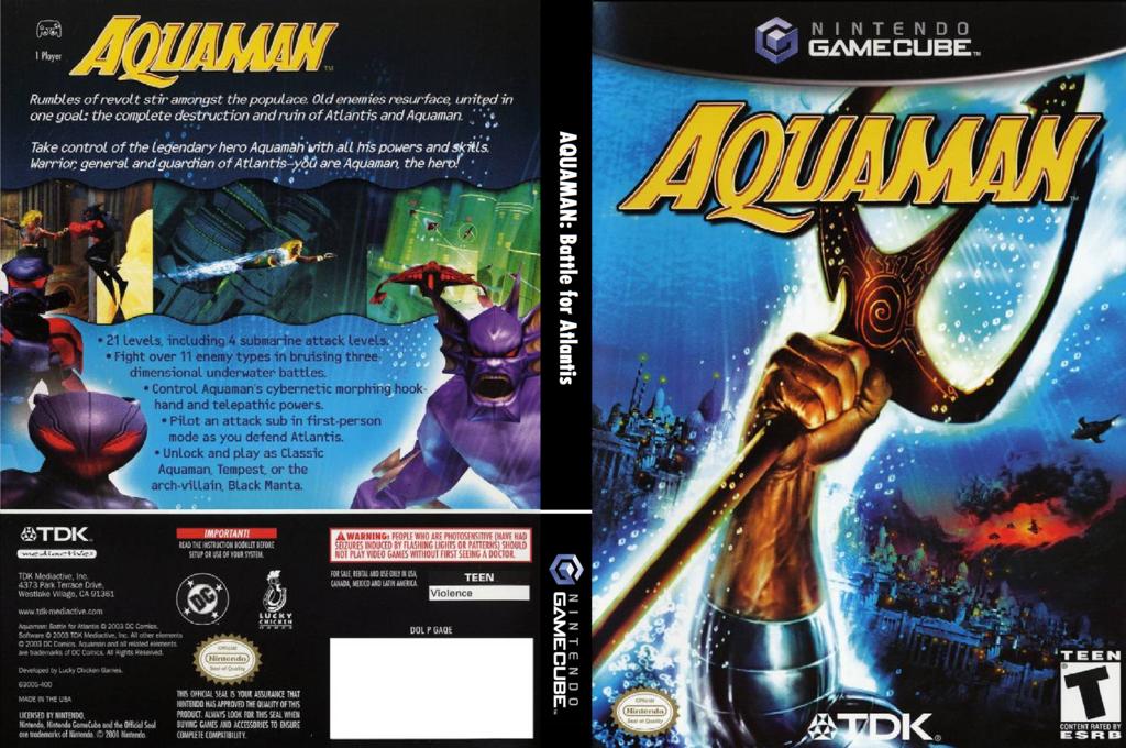 Aquaman: Battle of Atlantis Wii coverfullHQ (GAQE6S)
