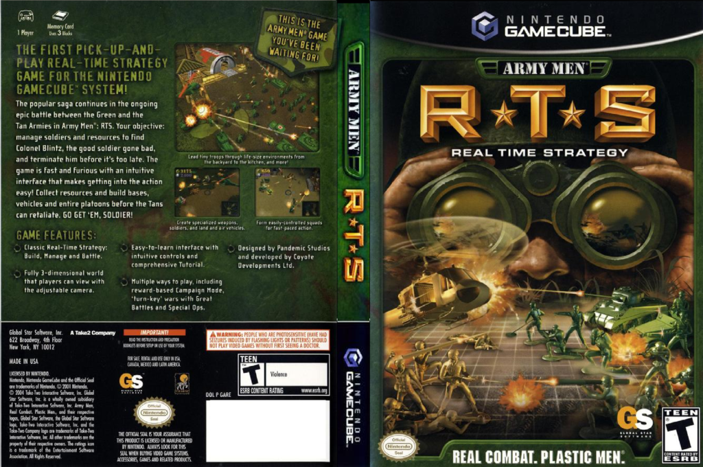 Army Men: RTS Wii coverfullHQ (GARE5H)
