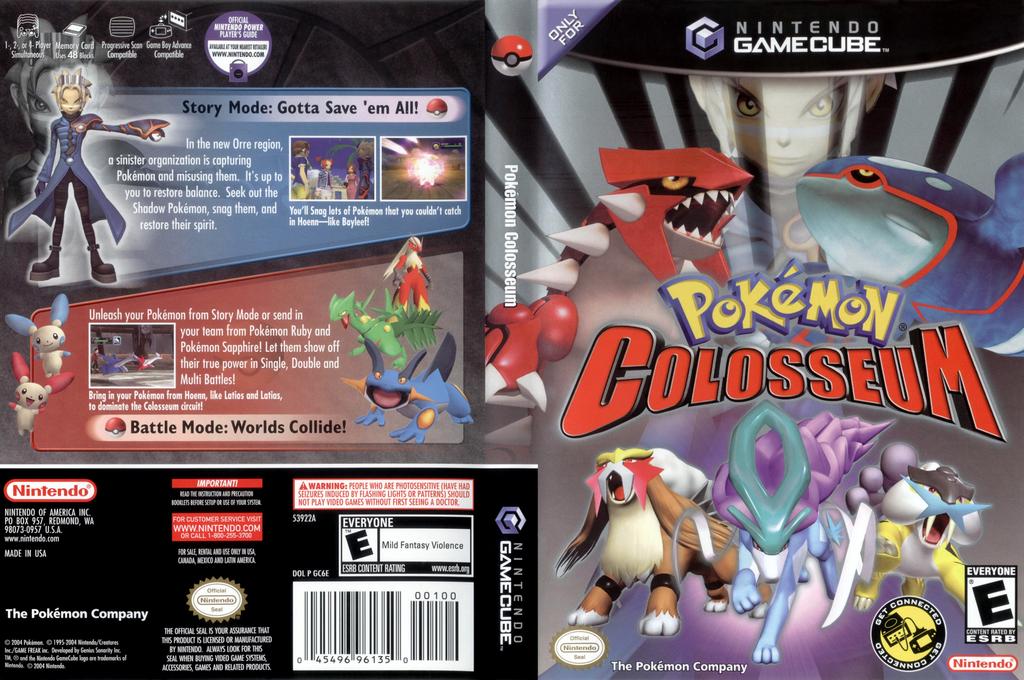 Pokémon Colosseum Wii coverfullHQ (GC6E01)