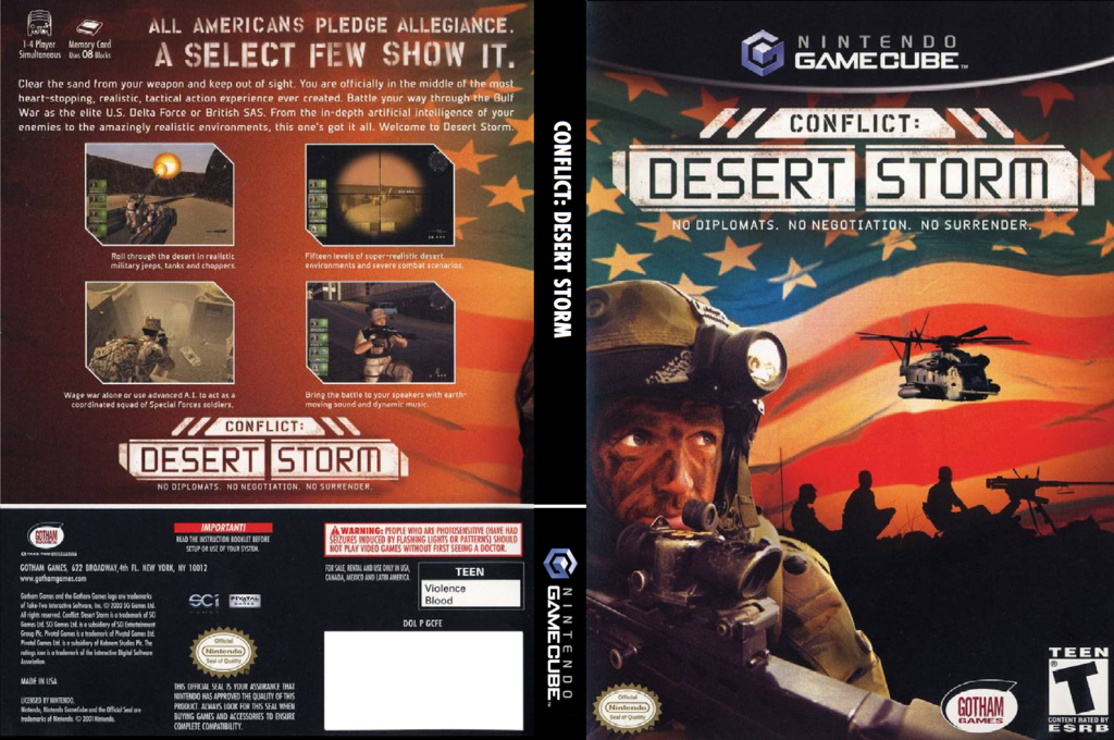 Conflict: Desert Storm Wii coverfullHQ (GCFE9G)