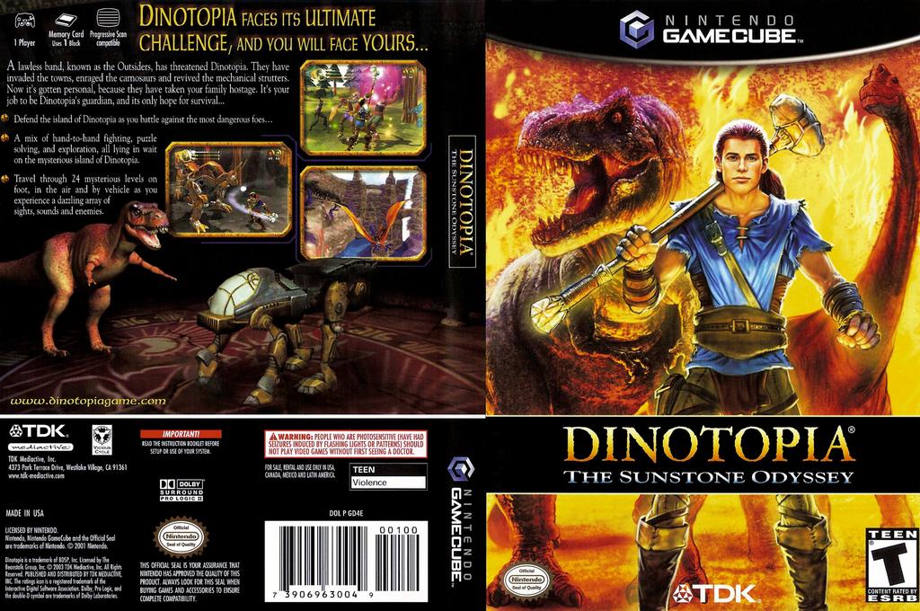 Dinotopia - The Sunstone Odyssey Wii coverfullHQ (GD4E6S)