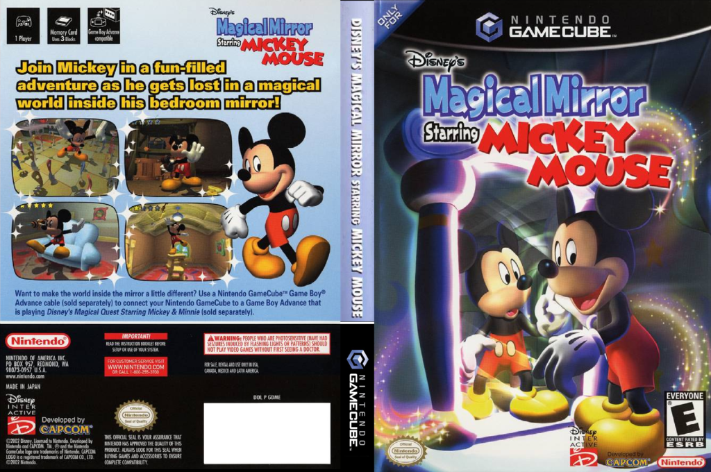 Disney's Magical Mirror Starring Mickey Mouse Wii coverfullHQ (GDME01)