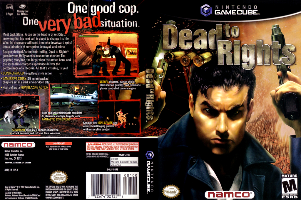 Dead to Rights Wii coverfullHQ (GDREAF)