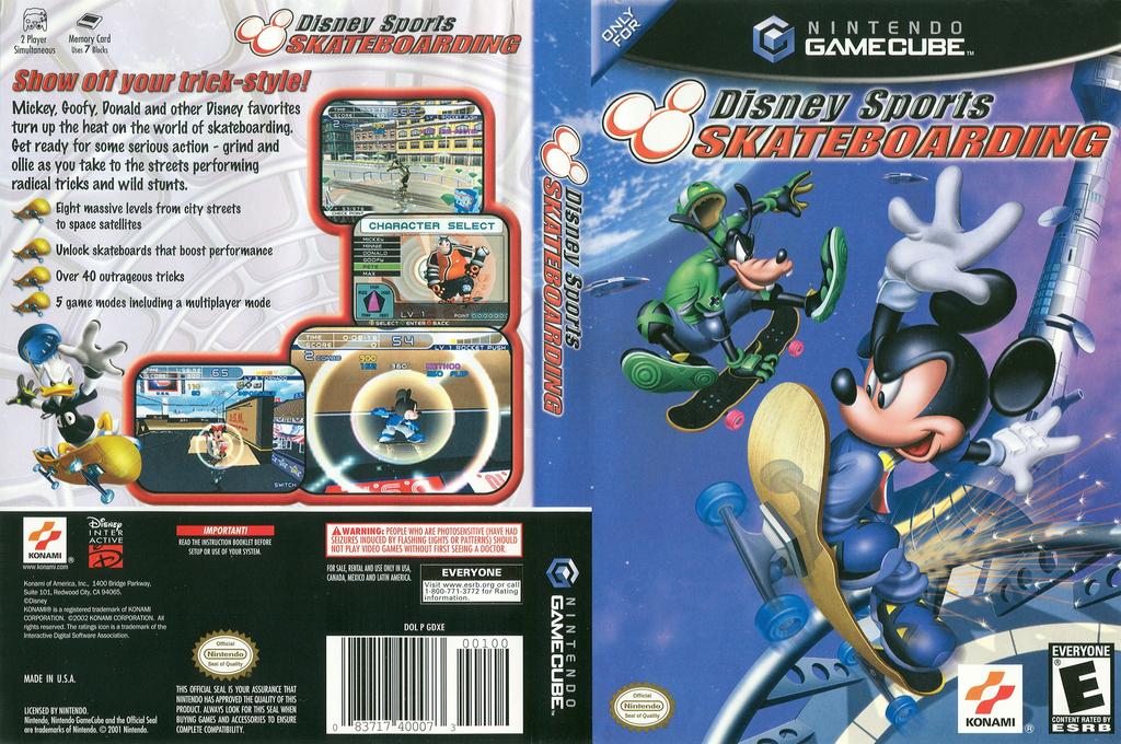 Disney Sports Skateboarding Wii coverfullHQ (GDXEA4)