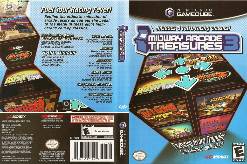 Midway Arcade Treasures 3 Array coverfullHQ (GE3E5D)